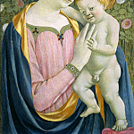 Domenico Veneziano - Madonna and Child, National Gallery of Art (Washington)