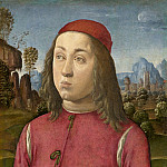 Agnolo di Domenico del Mazziere or Donnino di Domenico del Mazziere - Portrait of a Youth, National Gallery of Art (Washington)