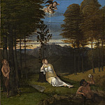 Allegory of Chastity, Lorenzo Lotto