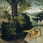 National Gallery of Art (Washington) - Giovanni Larciani (Master of the Kress Landscapes) - Scenes from a Legend