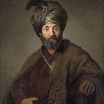 Rembrandt van Rijn and Workshop - Man in Oriental Costume, National Gallery of Art (Washington)