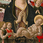 National Gallery of Art (Washington) - Ferrarese 15th Century - Madonna and Child with Angels