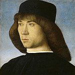 Giovanni Bellini - Portrait of a Young Man, National Gallery of Art (Washington)