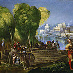 Aeneas and Achates on the Libyan Coast, Dosso Dossi