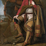 Colonel Guy Johnson and Karonghyontye (), Benjamin West