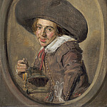 Frans Hals - A Young Man in a Large Hat, National Gallery of Art (Washington)