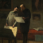 National Gallery of Art (Washington) - Honore Daumier - Advice to a Young Artist