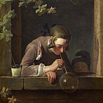Jean Simeon Chardin - Soap Bubbles, National Gallery of Art (Washington)