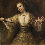 Rembrandt van Rijn - Lucretia, National Gallery of Art (Washington)