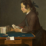 National Gallery of Art (Washington) - Jean Simeon Chardin - The House of Cards