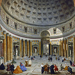 National Gallery of Art (Washington) - Giovanni Paolo Panini - Interior of the Pantheon, Rome