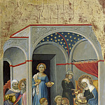 Andrea di Bartolo - The Nativity of the Virgin, National Gallery of Art (Washington)