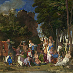 Giovanni Bellini and Titian - The Feast of the Gods, National Gallery of Art (Washington)