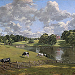 John Constable - Wivenhoe Park, Essex, National Gallery of Art (Washington)