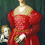 Agnolo Bronzino - A Young Woman and Her Little Boy, National Gallery of Art (Washington)