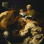 National Gallery of Art (Washington) - Johann Liss - The Satyr and the Peasant