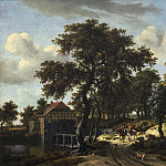 Meindert Hobbema - The Travelers, National Gallery of Art (Washington)