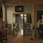 The Bedroom, Pieter de Hooch
