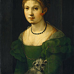 Florentine 16th Century - Portrait of a Young Woman, National Gallery of Art (Washington)