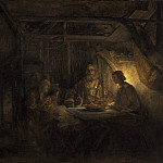 Rembrandt van Rijn – Philemon and Baucis, National Gallery of Art (Washington)