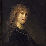 Rembrandt van Rijn - Saskia van Uylenburgh, the Wife of the Artist, National Gallery of Art (Washington)