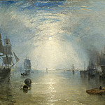 Joseph Mallord William Turner - Keelmen Heaving in Coals by Moonlight, National Gallery of Art (Washington)