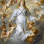 The Virgin as Intercessor, Anthony Van Dyck