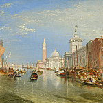 National Gallery of Art (Washington) - Joseph Mallord William Turner - Venice: The Dogana and San Giorgio Maggiore