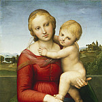 Raphael - The Small Cowper Madonna, National Gallery of Art (Washington)