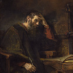 Rembrandt van Rijn - The Apostle Paul, National Gallery of Art (Washington)