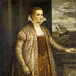 National Gallery of Art (Washington) - Follower of Titian - Emilia di Spilimbergo