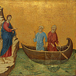 National Gallery of Art (Washington) - Duccio di Buoninsegna - The Calling of the Apostles Peter and Andrew