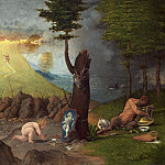 Lorenzo Lotto - Allegory of Virtue and Vice, National Gallery of Art (Washington)