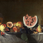National Gallery of Art (Washington) - Pensionante del Saraceni - Still Life with Fruit and Carafe