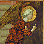 Masolino da Panicale - The Archangel Gabriel, National Gallery of Art (Washington)