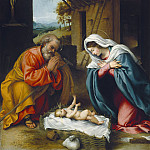 Lorenzo Lotto - The Nativity, National Gallery of Art (Washington)
