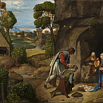Giorgione - The Adoration of the Shepherds, National Gallery of Art (Washington)