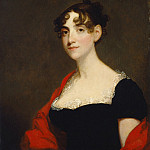 Gilbert Stuart - Ann Calvert Stuart Robinson , National Gallery of Art (Washington)
