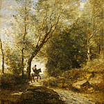 The Forest of Coubron, Jean-Baptiste-Camille Corot