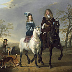 Lady and Gentleman on Horseback, Aelbert Cuyp