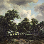 Meindert Hobbema - Hut among Trees, National Gallery of Art (Washington)