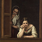 Bartolome Esteban Murillo - Two Women at a Window, National Gallery of Art (Washington)