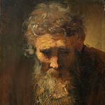 Follower of Rembrandt van Rijn - Study of an Old Man, National Gallery of Art (Washington)
