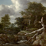 Forest Scene, Jacob Van Ruisdael