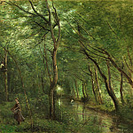 National Gallery of Art (Washington) - Jean-Baptiste-Camille Corot - The Eel Gatherers