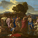 Nicolas Poussin - The Baptism of Christ, National Gallery of Art (Washington)