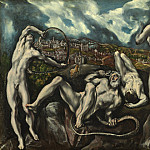 El Greco - Laocoon, National Gallery of Art (Washington)