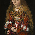 Lucas Cranach the Elder - A Princess of Saxony, National Gallery of Art (Washington)