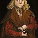 Lucas Cranach the Elder - A Prince of Saxony, National Gallery of Art (Washington)