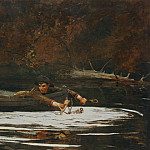 National Gallery of Art (Washington) - Winslow Homer - Hound and Hunter